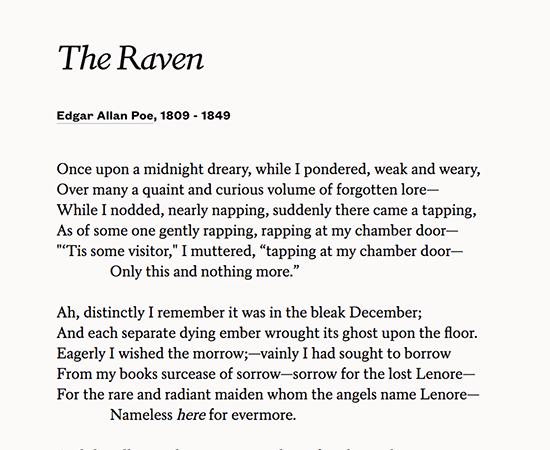 poets similar to edgar allan poe