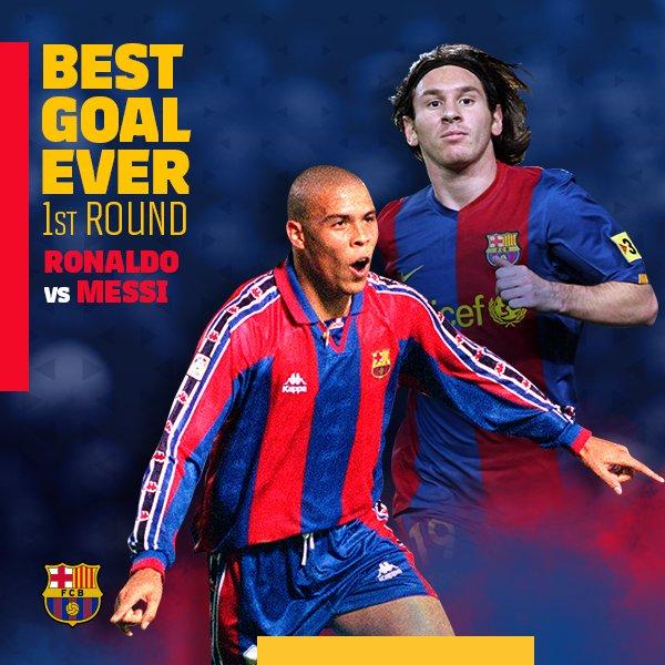 ⚽ #BarçaBestGoalEver 🔥 Eslalon contra eslalon 🔥 🔝 Hoy, @Ronaldo contra #Messi ¡Vota! 👉 https://t.co/MJX7IxY5Mu