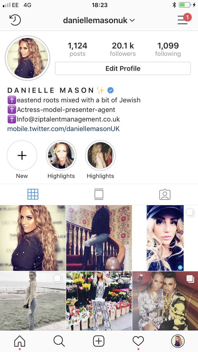 Twitter Danielle Mason