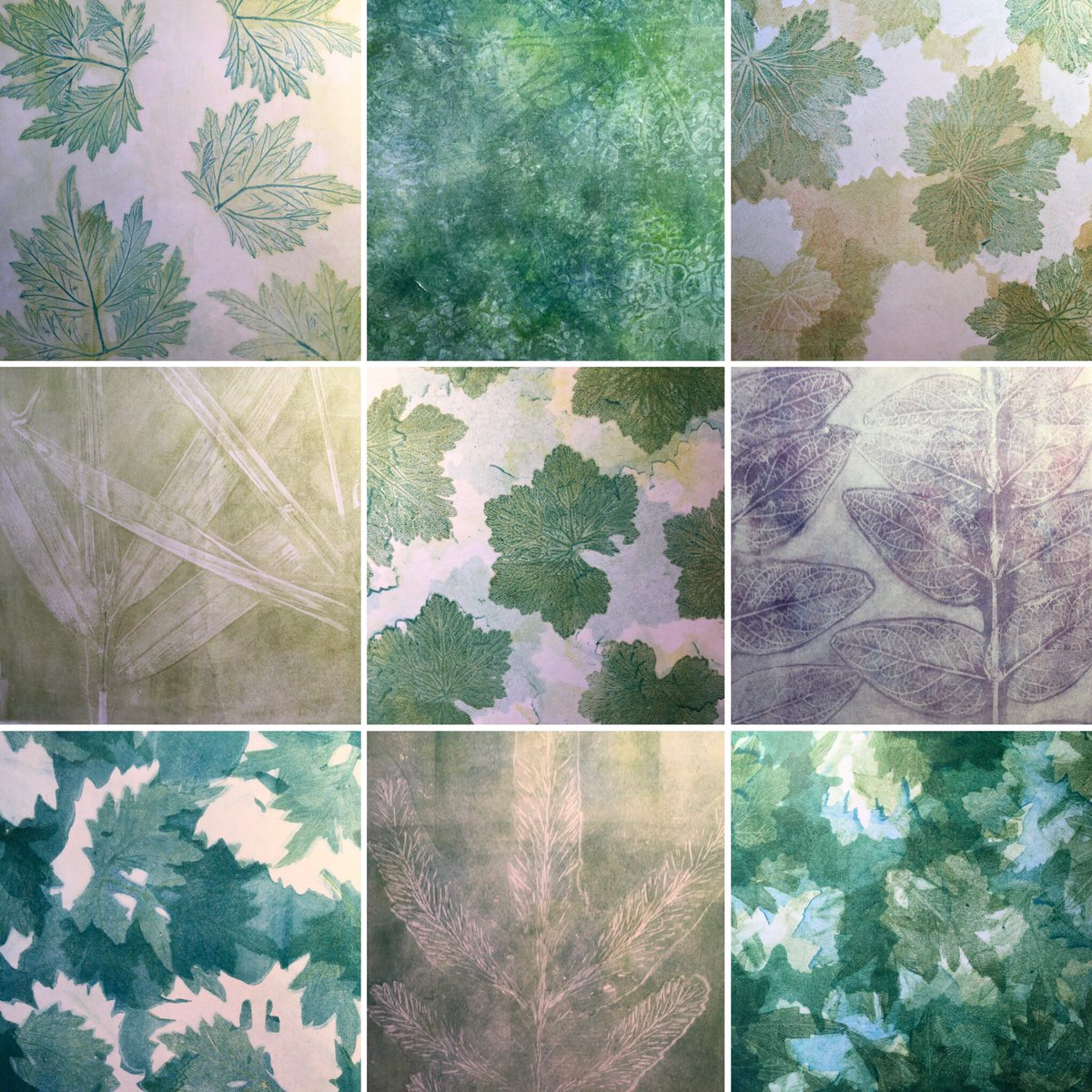 A day of #artisticexploration @GelliArts printing with Caligo safe wash inks and #paperweaving I like the #natureinspired colours. They may get an outing @DoncasterFair & @artwalkwake in March @Folksy Looking forward to my nature inspired Gelli Printing @SkeltonGrange in Junepic.twitter.com/oNa16Upboa