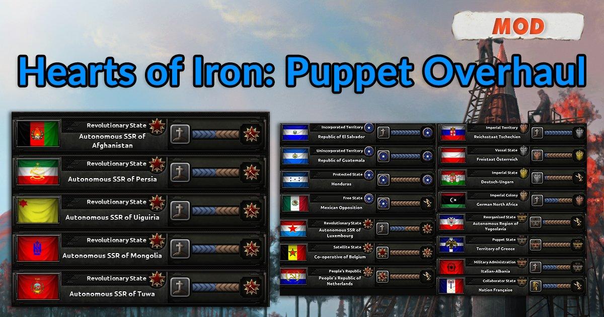 Hoi4 Release Puppet Mod