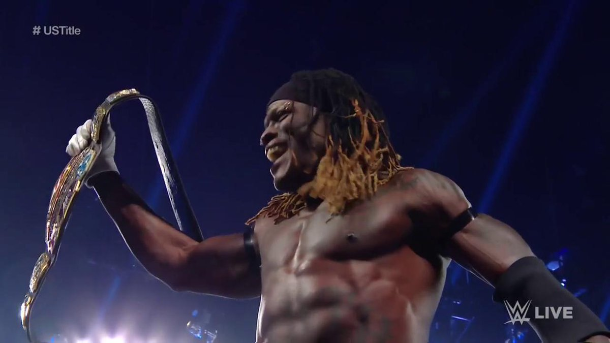 Image result for R-Truth Wins U.S. Championship On Tonight's WWE SmackDown