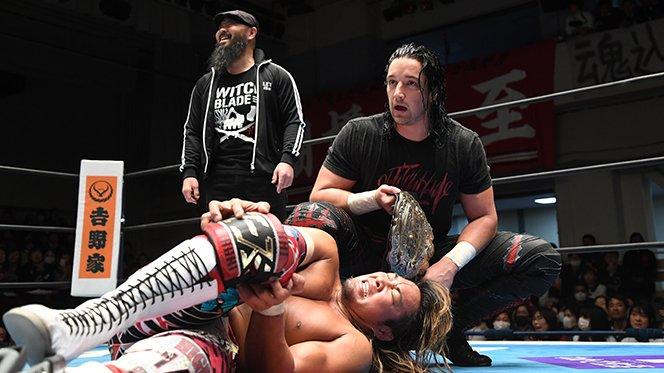"""NJPW: """"Road to the New Beginning"""" El adiós de KUSHIDA 6"""