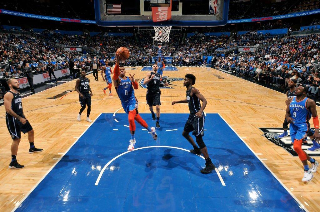 NBA》威少是戲耍魔術高手 刷新對陣大三元紀錄