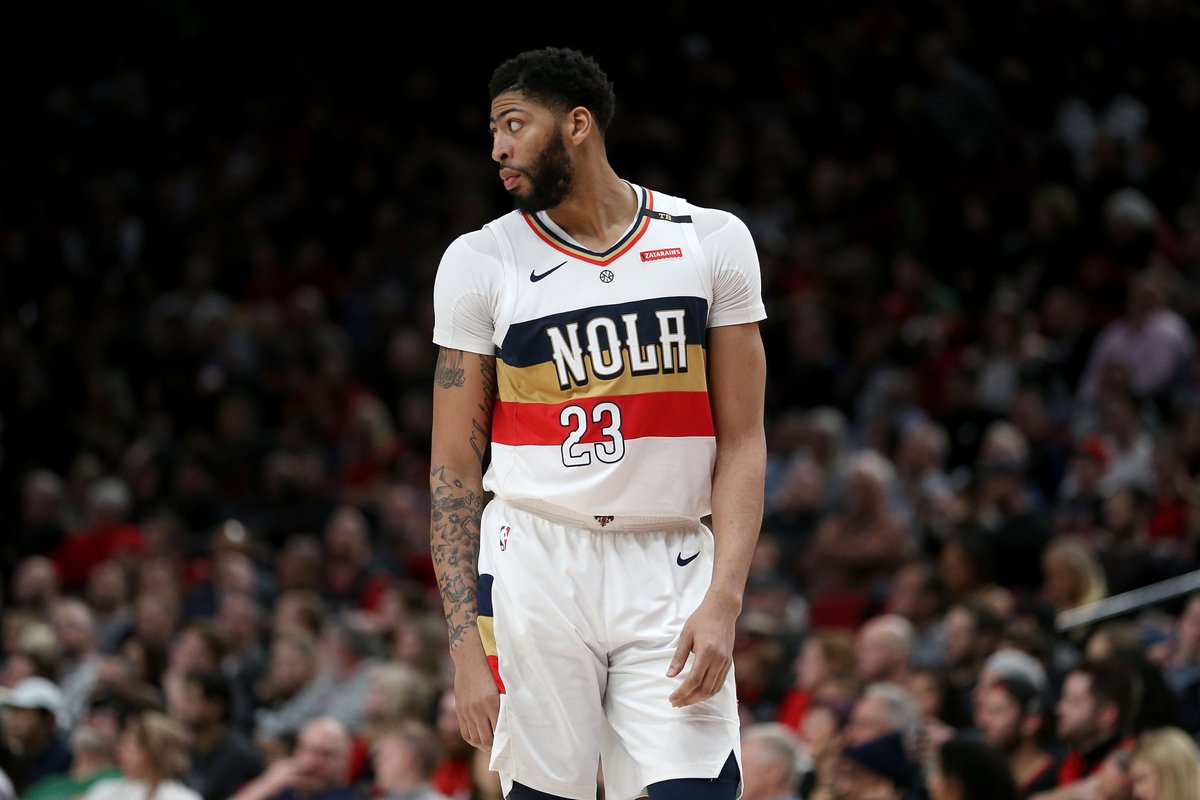 Anthony Davis: The NBA has fined Anthony Davis $50,000 as a