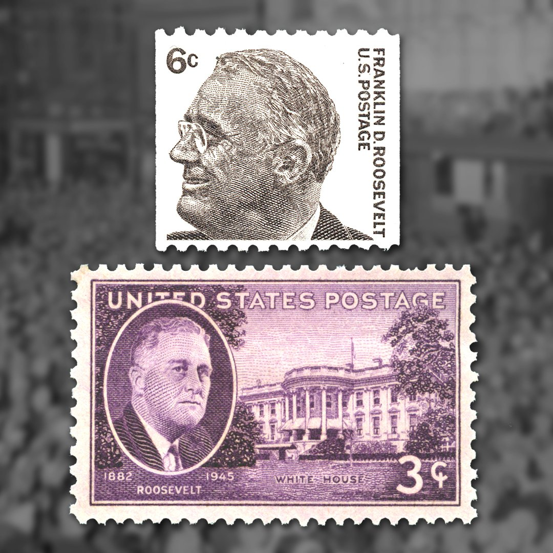 Learn More About Our Stamp Collecting President In The APS Hall Of Fame Classicstampsorg HOF 1942 CollectStamps