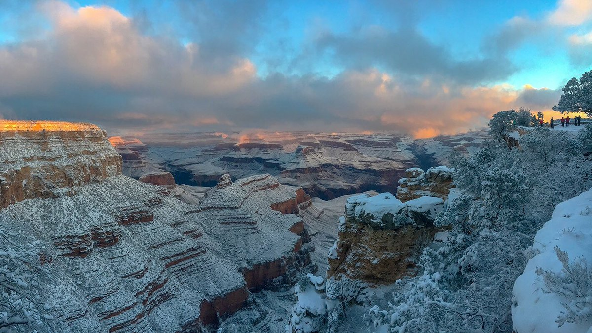 Grand Canyon Nps On Twitter A Look Back On Sunrise From January 1 2019 At Grand Canyon Village On The South Rim What Away To Start The Year This Week There