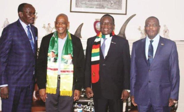 South Africa's ANC Meets President #Mnangagwa: https://t.co/H8F6uX9UH6  #ZanuPF #ANC #Zimbabwe #SouthAfrica