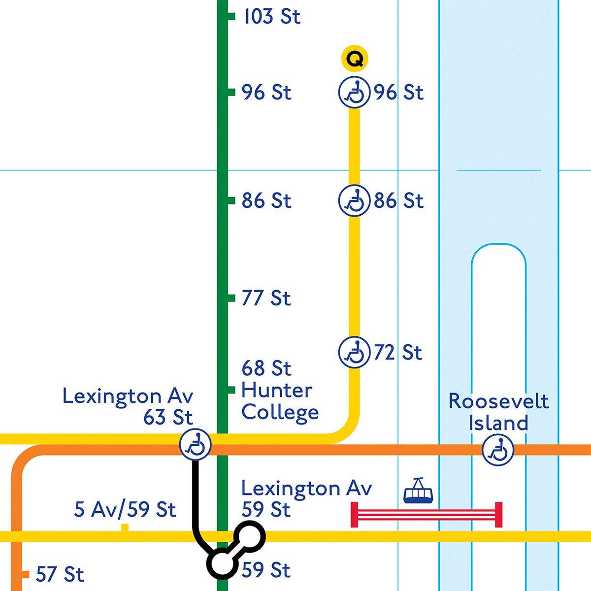 Subway Map 77 Street.Transit Maps On Twitter Okay Updates And Edits To My New York