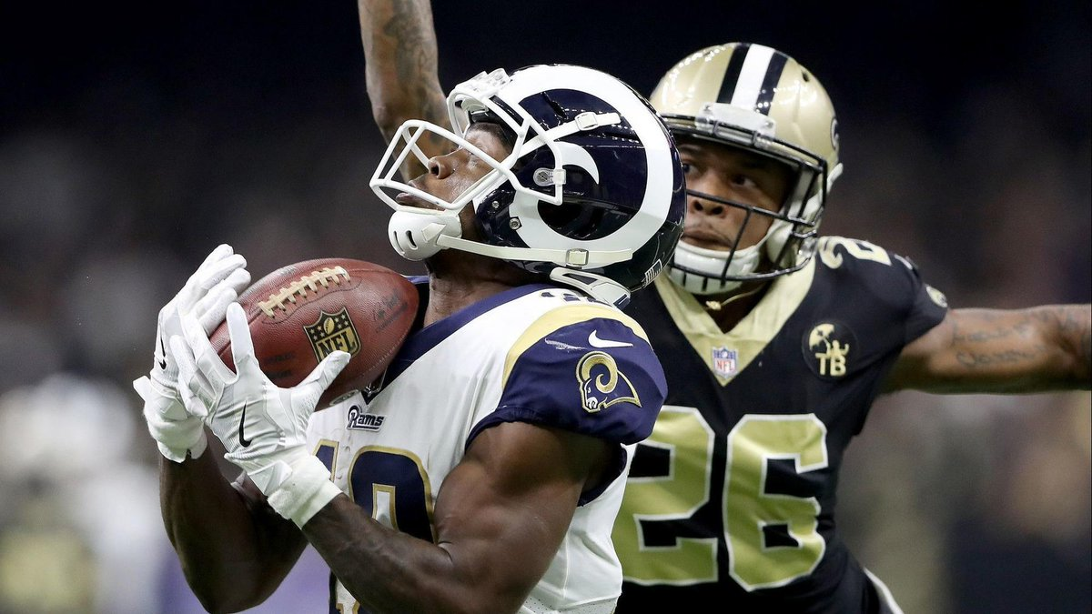 los angeles rams receivers brandin cooks gets second shot at super bowl  after patriots trade 4205fc34a