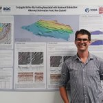 Image for the Tweet beginning: .@UCNZgeology PhD student Sam Davidson