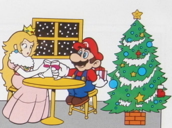 Super Mario World Christmas.Forest Of Illusion On Twitter Super Mario World Era Art Of