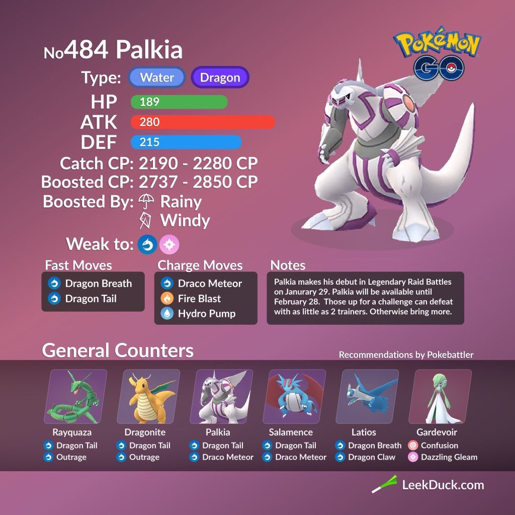 Dialga Vs Palkia Vs Rayquaza Pokemon Go