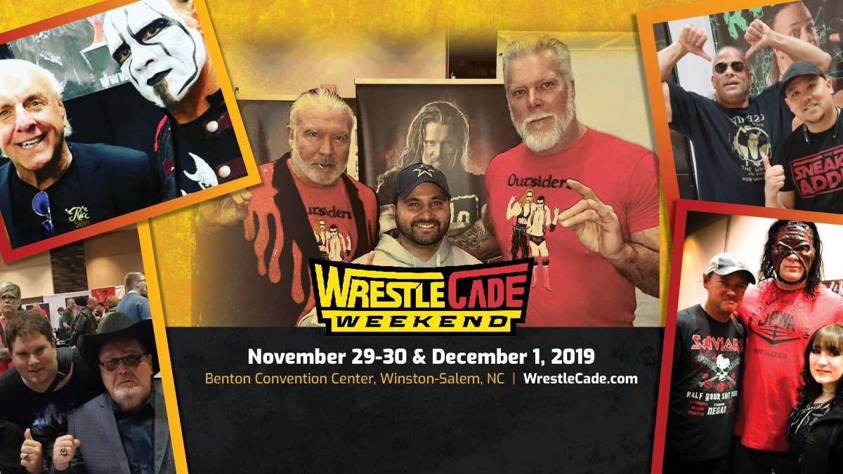 As we begin to put the pieces together for @WrestleCade Weekend, give me your  suggestions for wrestlers...panels...experiences... live podcasts that you want to see. It's early so everything is on the table. 😎 #WrestleCade