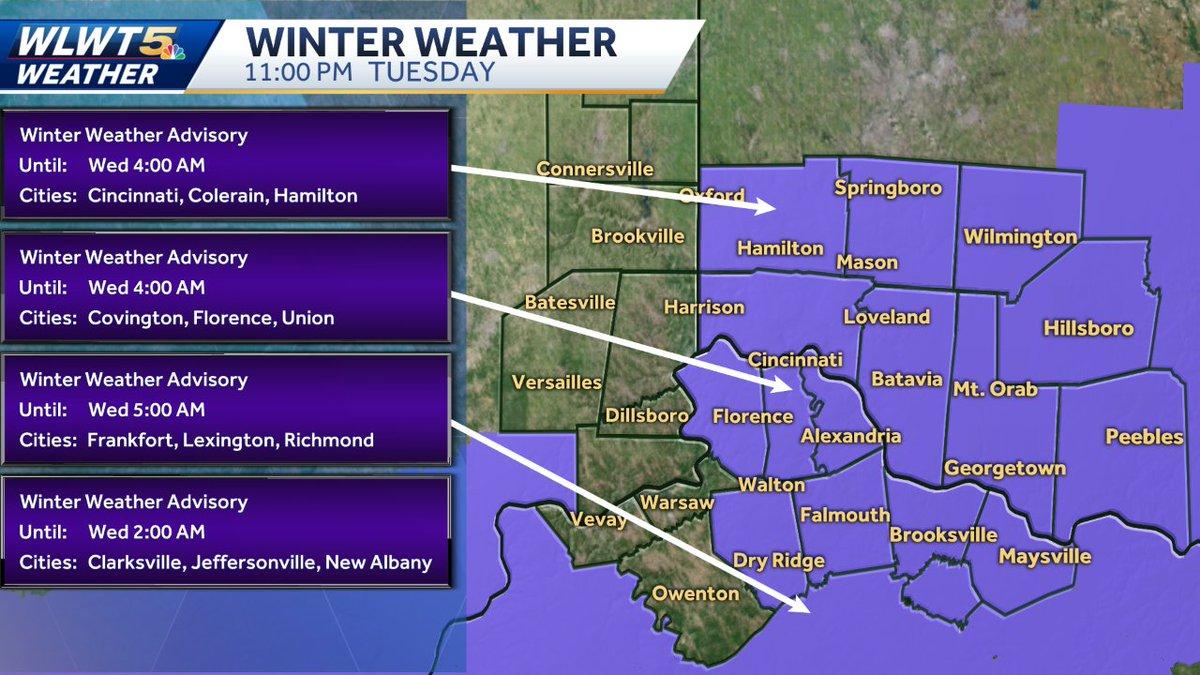 Wlwt On Twitter Winter Weather Update Alerts Httpstco
