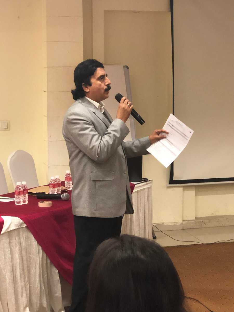 Avijeet Kumar, COO, CAF India welcomes all partners to the Experiential Learning Session being organised with support from @KCCorp today.  #toiletstochangelife