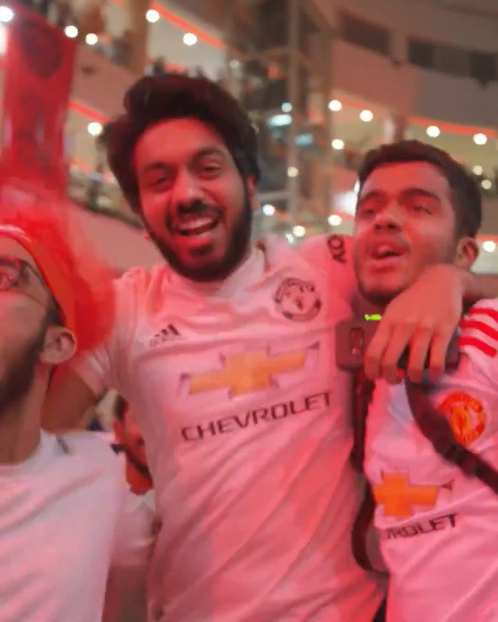 So much passion at our last #ILOVEUNITED fan party in Chennai. 🔴  Next up: Guangzhou 🇨🇳  More info: http://manutd.co/2QY