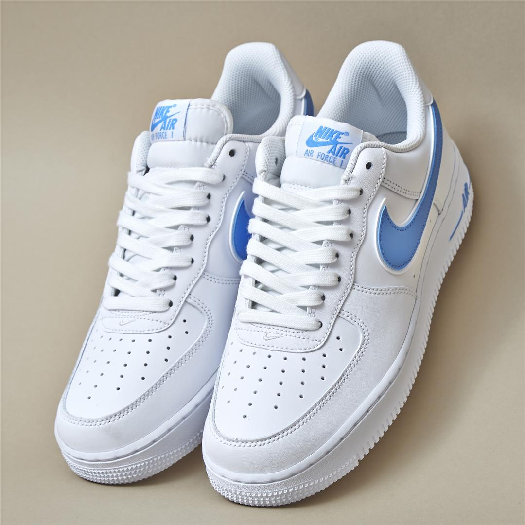 super popular 8c368 01222 the classic that just keeps on getting better nike air force one in white  uni blue