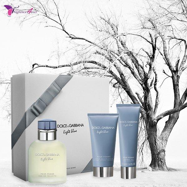 @DolceGabbana Light Blue Pour Homme EDT 3 PCs Gift Set. Shop #Men's favorite item exclusively available on @Fragrances4ever. http://bit.ly/2DHTl8J  #dolcegabbana #perfume #dolcegabbanalightblue #parfum #lightblue #fragrance #dolcegabbanamen #aftershavebalm #showergel #giftsetpic.twitter.com/zmB9PfP6vF