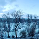 A light dusting here in #Preston today. Pic taken from @FWPGroup offices looking accross Avenham Park. @blogpreston