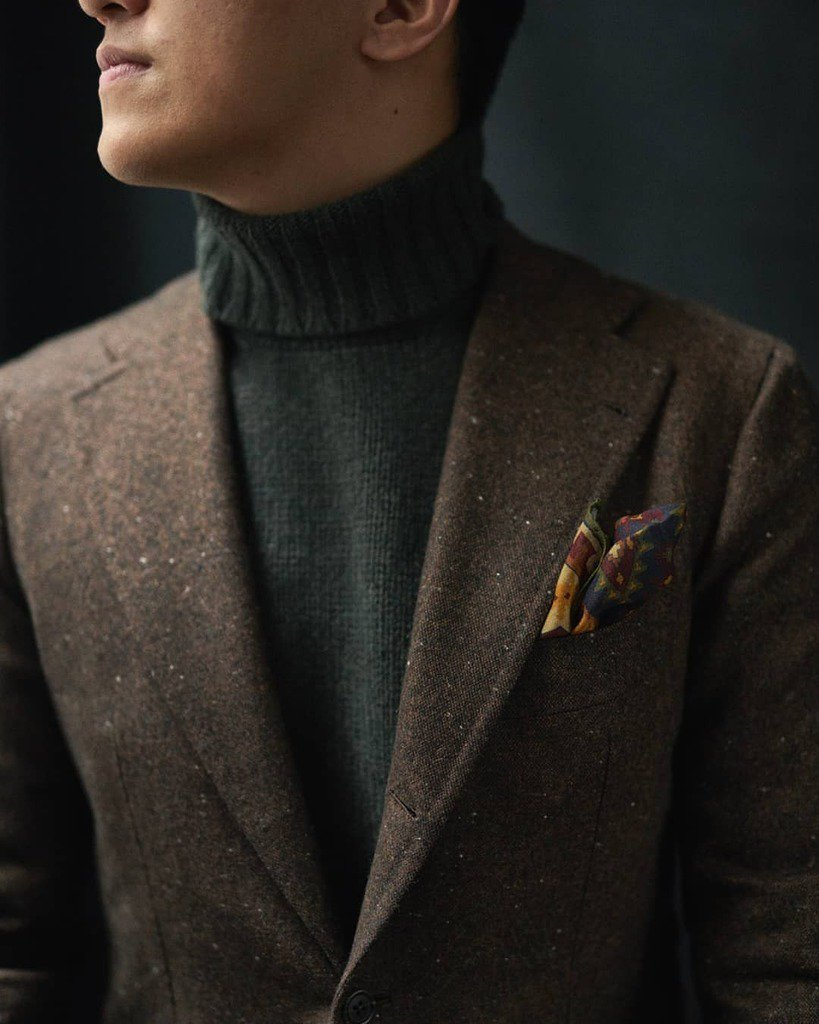 3b77d670889594 [Photo] http://bit.ly/2S0hyjx Marcus wearing wintery textures