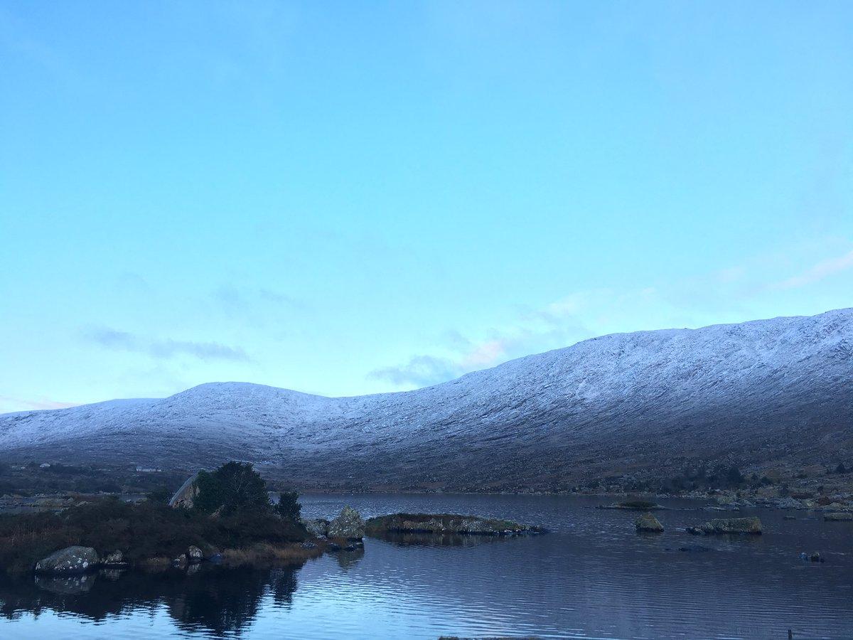 Loch Con Aortha maidin inniu ❄️ 30.01.2019 #Conamara #Gaeltacht @AimsirTG4