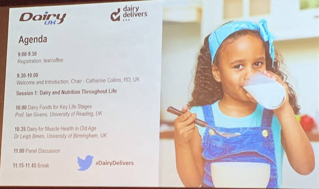 Attending @dairyuk conference. Developing understanding how #dairydelivers
