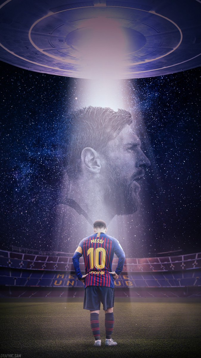 Graphicsam On Twitter Out Of This World Leo Messi Wallpaper