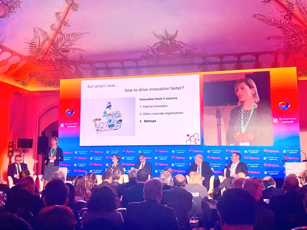 .@CarolienSandee CEO @PortXLglobal at #ThinkTankBasilicata Forum to talk about the #future of maritime #innovation. Thank you very much for the ideas shared with us for Southern Italy from the first world port accelerator @Total