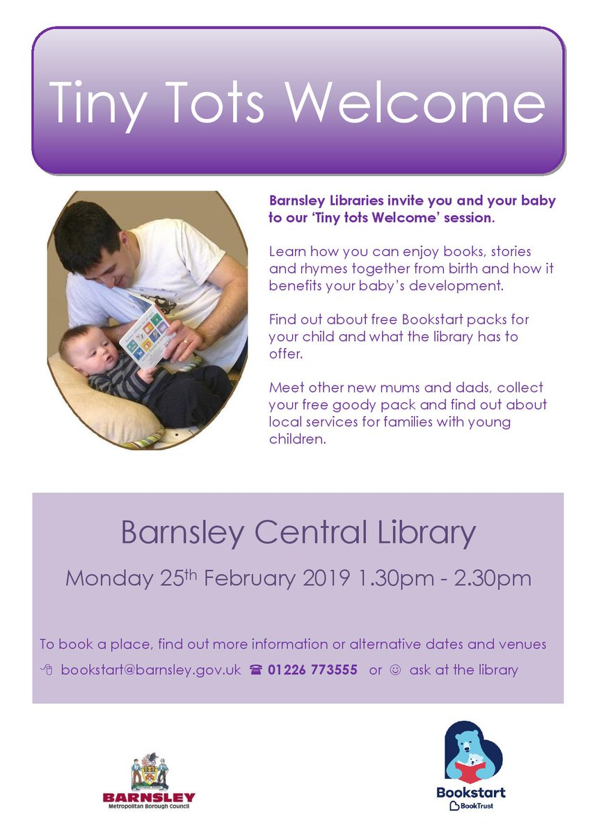 Barnsleylibraries On Twitter Central Library Is Holding Another