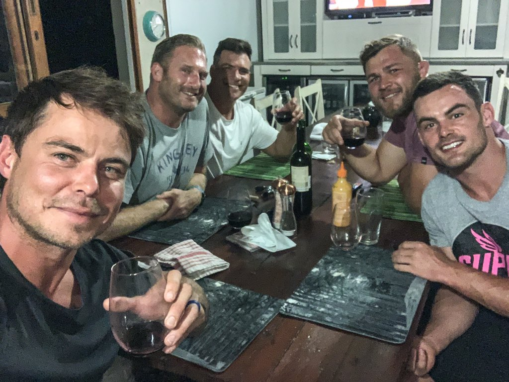 A night to remember! Thanks guys 👌 @JesseKriel15 @duane_vermeulen @SchalkBrits #jaguarSHC @jaguarsa @LandRoverZA
