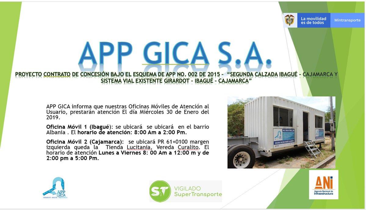 APP GICA S A  on Twitter: