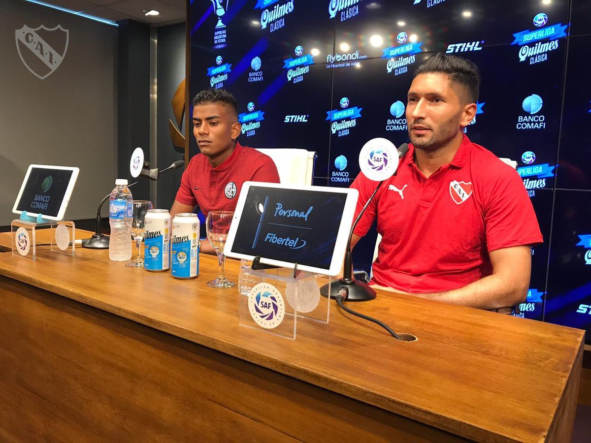 """Campaña: """"Me gustaría ver a Independiente campeón de la Copa de la Superliga y clasificado a la Libertadores"""""""
