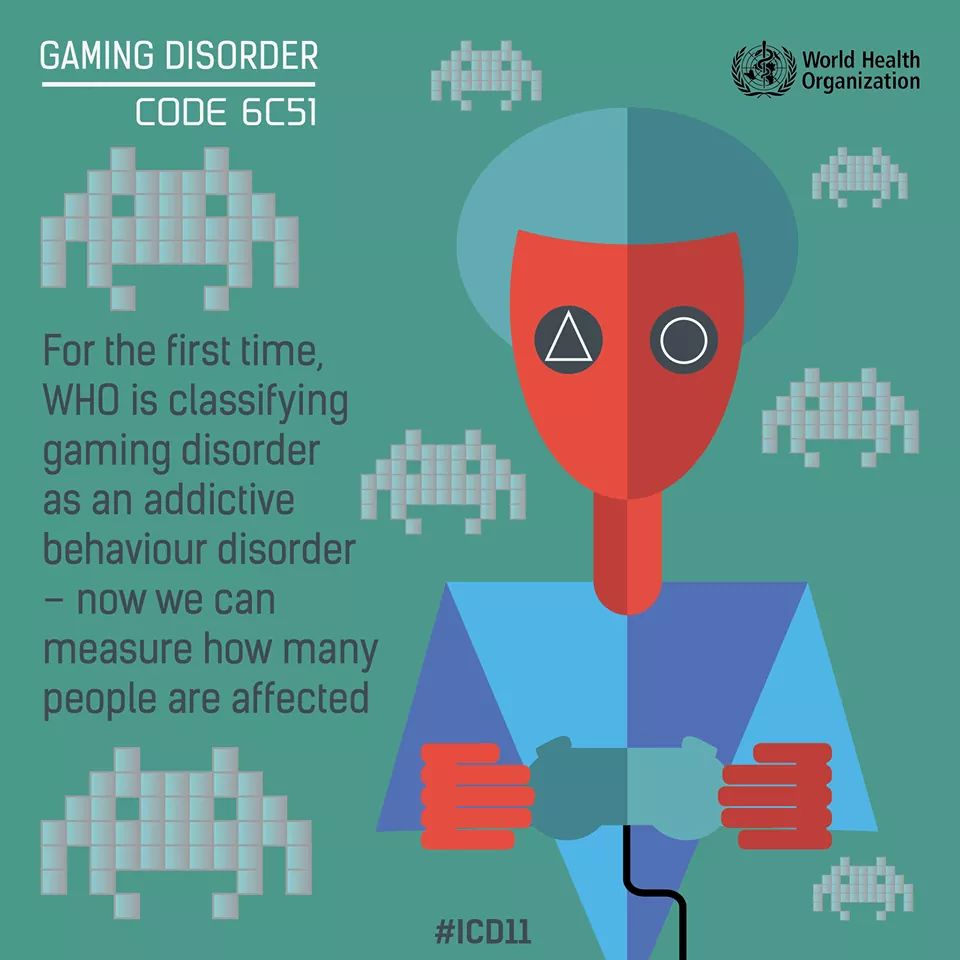 For the first time, in the International Classification of Diseases (ICD-11),WHO is classifying gaming disorder as an addictive behaviour disorder so now we can measure how many people are affected @RajkotDdo @SDMRajkotRural @WHO @UNDP_India @docsourabh @SDMNKT @mayur_rx