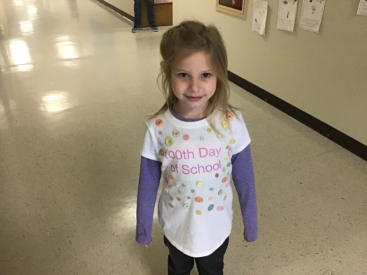 Such a cute idea #100thDayofSchool #celebratelps @CitrusSchools @kjoy1542