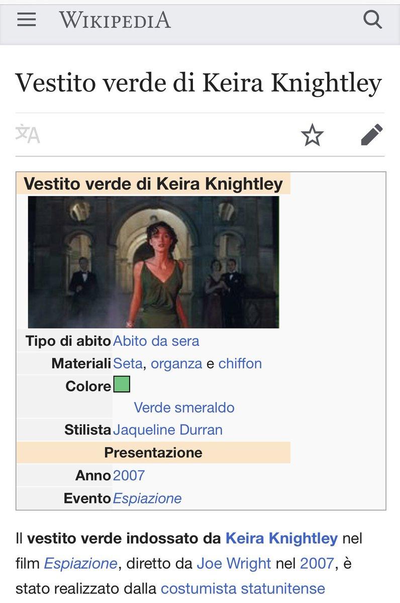 Abiti Da Sera Wikipedia.𝒱𝒶𝓁𝓈 On Twitter La Versione Italiana Di Wikipedia Vanta Un