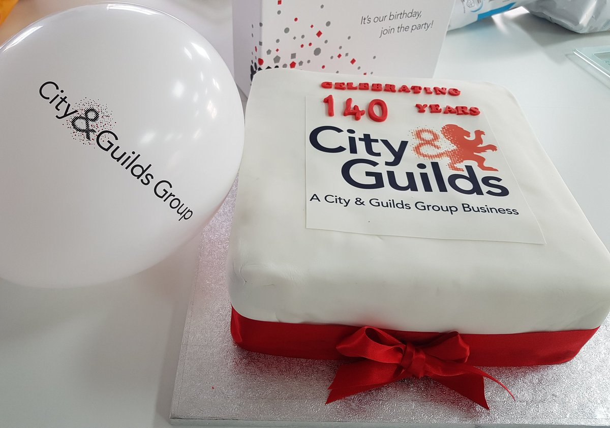 Happy Birthday City and Guilds 140 years today 🎉🎊🎈 @CityGuildsGroup @ILM_UK