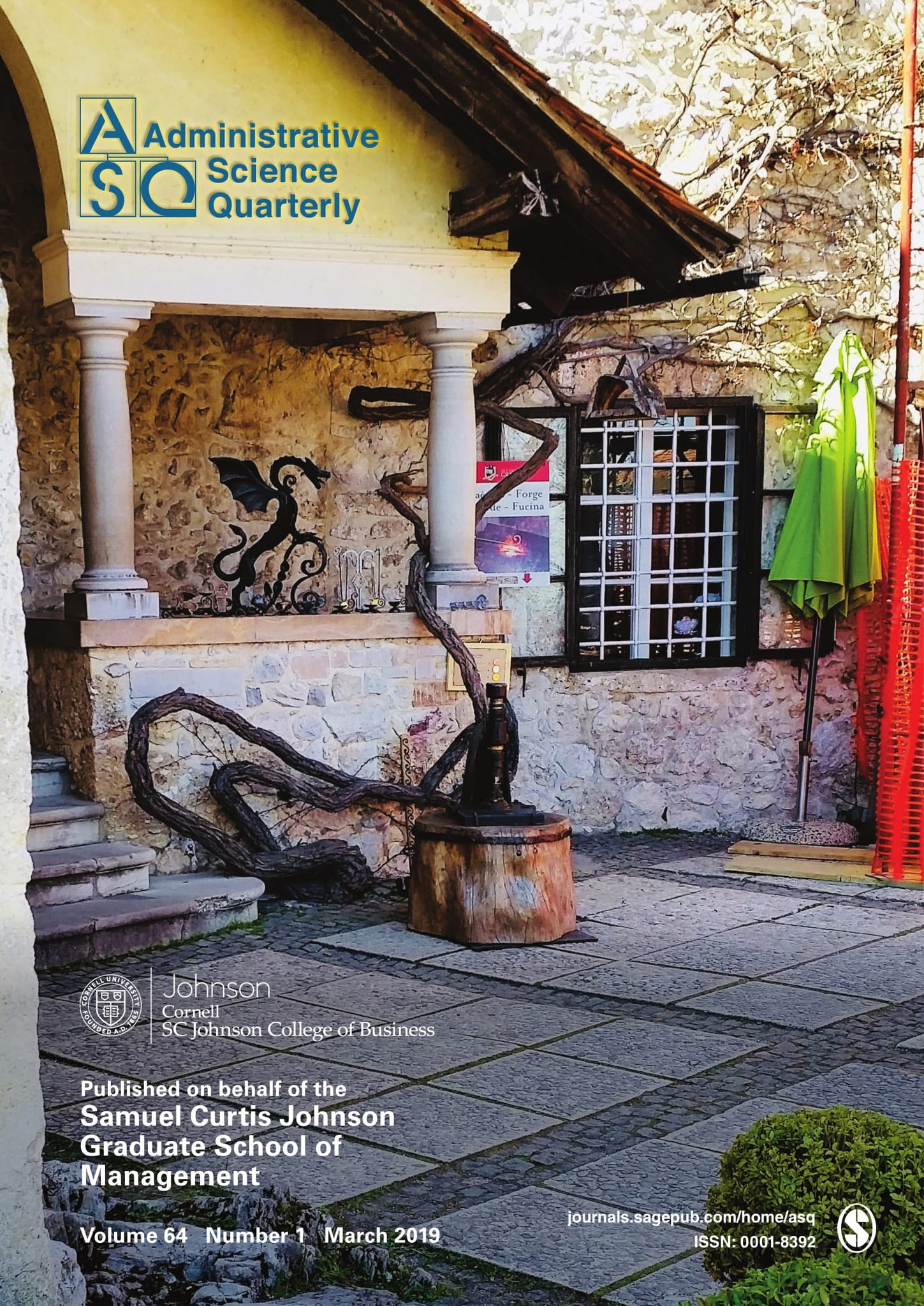 Asq Journal On Twitter March Issue Of Asq Is Online Https T