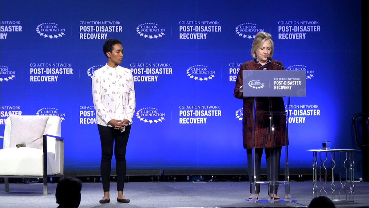 .@HillaryClinton shares how the Cathexis Project is helping equip small businesses in Puerto Rico with the tools they need to recover and grow #IdeasIntoAction