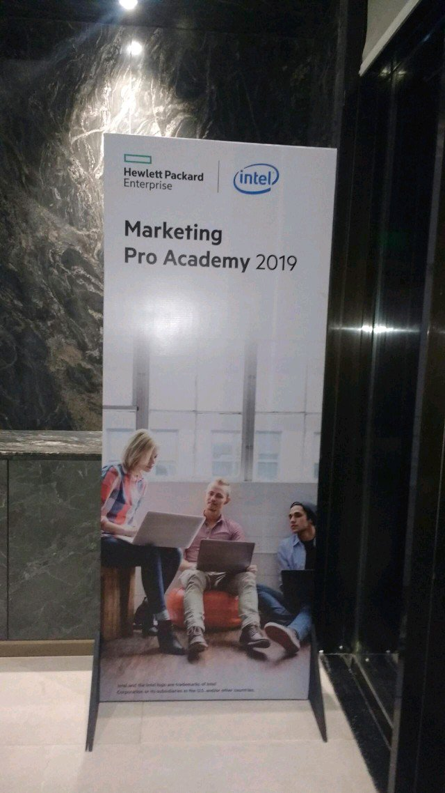 Attending HPE Marketing Pro Academy 2019, Event at Goa – at Hyatt Place Goa Candolim