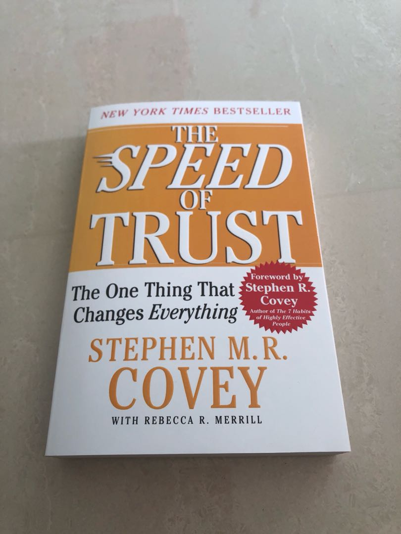 A mutual trust between you and your clients is so important for success!! Be sure to checkout The Speed of Trust written by @StephenMRCovey! #Day6 @TNuckolls