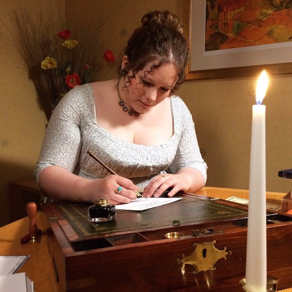 I've been a little quiet of late...but there's a very good reason as to why... 💙 check back this evening to find out why! #laughingwithlizzie #somethingintheworks #janeausten