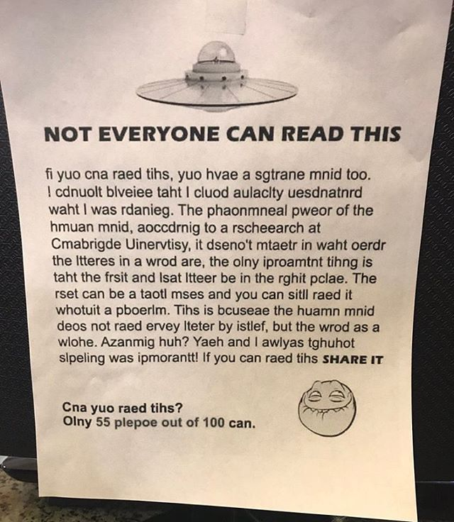 Retweet if you can read it! https://t.co/q8L3aANsIi