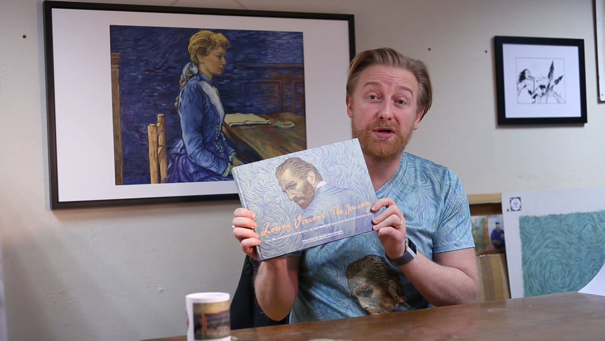 Loving Vincent: The Journey is now available to pre-order. Get your copy of this exclusive behind the scenes book today, available at a special pre-order price until February 14th: http://bit.ly/LovingVincentTheJourney…