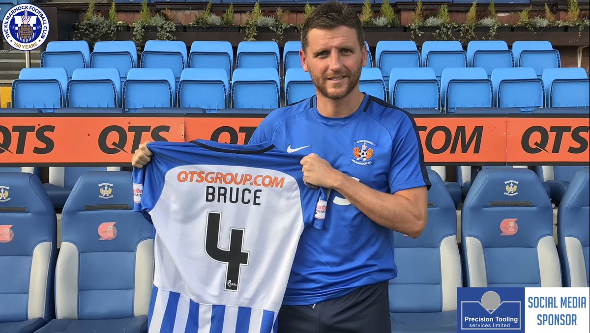 Kilmarnock FC is delighted to announce Alex Bruce has signed a six-month deal with the club.  Welcome @AlexBruce84  ✍️ http://bit.ly/2DI3Ysi  #Killie150