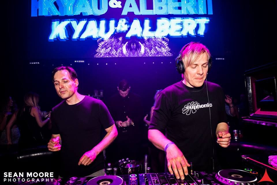 3/16 @KyauAndAlbert & Albert return for @EuphonicRec night. They will be bringing with them the one and only @RonskiSpeed! Tickets: http://vor.us/a033c