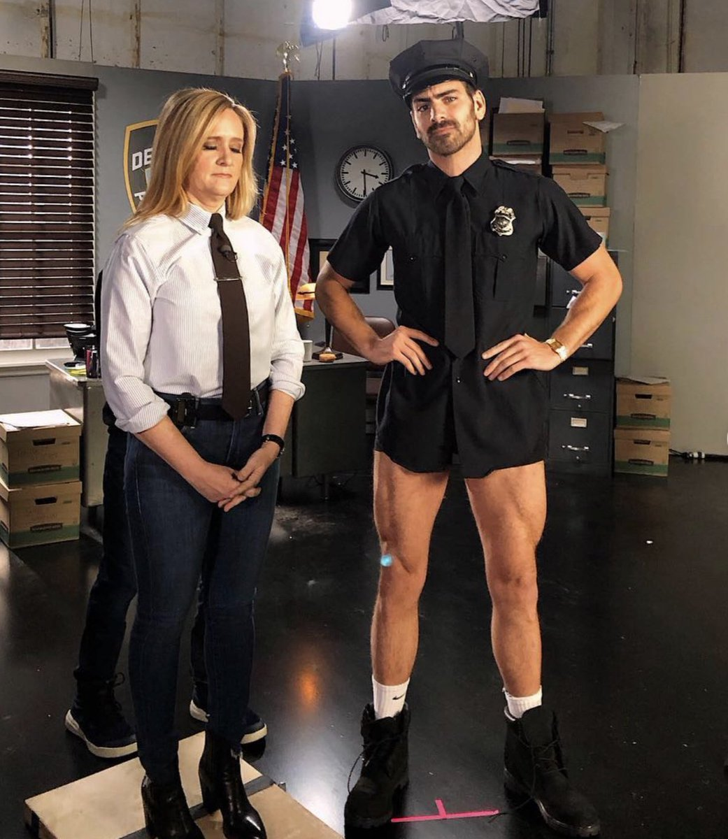 88114e22c Nyle DiMarco s Police Officer Roleplay is Giving Samantha Bee (and Everyone  Else) the Vapors