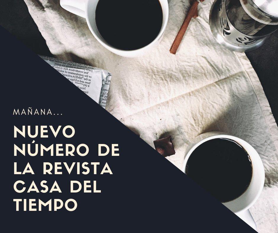 ¡Espera el siguiente número de la #RevistaCasaDelTiempo! #FelizMiércoles