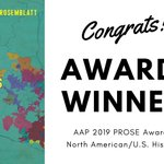"""We are thrilled to announce our very first #PROSEAwards winner, @KarinRosemblatt's """"The Science and Politics of Race in Mexico and the United States, 1910-1950."""" A well deserved honor for the author and this border-crossing work. Info here: https://t.co/MxBy2Lfvut."""