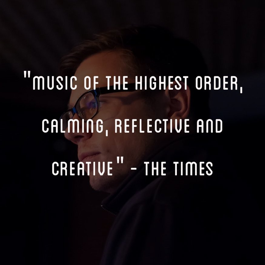 """'Music of the highest order, calming, reflective and creative"""" - The Times Listen here: lnk.to/Subjective-Act…"""